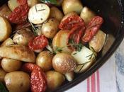 Cocotte grenailles, tomates confites...