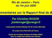 crash Rio-Paris catastrophe aérienne pour rien...