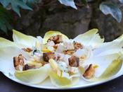 Salade d'endives noix roquefort