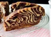 Gâteau Zébré Zebra cake