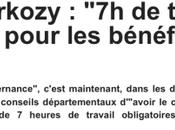 travaux forcés pour pauvres? Nicolas Sarkozy s'éparpille…