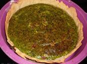 Tarte épinards, lardons philadelphia TM31