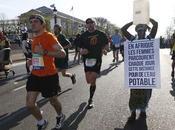 BUZZ Marathon Paris Message fort d'une Gambienne