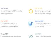 Smallpdf, l'outil ligne 100% gratuit pour convertir, compresser fusionner
