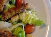 Salade croustillante fingers porc panés