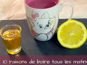 raisons boire citron miel tout matins