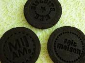 Oréo maison cacao noir fourrés coco cookie cream (végan, diététique, sans gluten, beurre sucre oeuf lait)