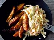 Coleslaw yorkais potatoes damner