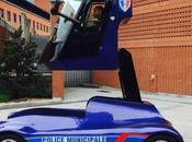 Viséo, voiture insolite police d'Evry