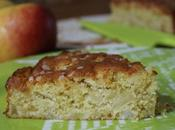 gâteau madeleine pommes