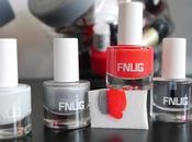 nail nuancé avec vernis FNUG