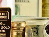 L'or reste Première monnaie réserve Dollar l'Euro.