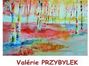 Valérie Przybylek aquarelliste expose Roquevaire