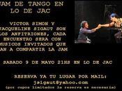 session Tango chez Jacqueline Sigaut demain l'affiche]