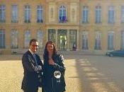 Courbevoie conseiller municipal Arash Derambarsh reçu l'Élysée Parisien)