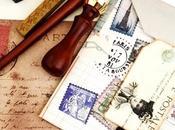 Papier, enveloppe correspondance