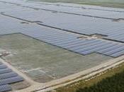 centrale photovoltaïque plus puissante d'Europe bientôt inaugurée Cestas Gironde