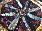 Pissaladière Oignons rouges Sardines
