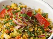 Salade Lentilles Pondichery Concombre Tomates
