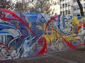 Street près chez quand l'art fait peau neuve pour journée l'Europe