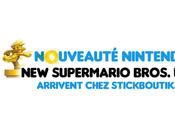 NewSuperMario Bros. Deux nouvelles versions chez Stickboutik.com