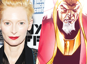 MOVIE Doctor Strange Tilda Swinton discussion pour rejoindre casting