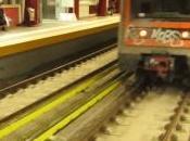Instantanés ferroviaires métro images éphémères