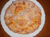 Brioche Plate Couronne Roses