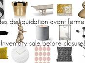 Soldes liquidation! inventory sale!
