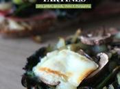 Tartines épinard, Petit Billy®, champignons