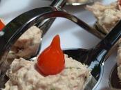 Cuillère thon goutte poivron