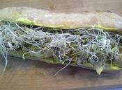 Sandwich faux-poulet