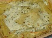 Lasagnes chèvre basilic