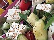 salades l'été