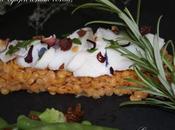 Filet d'églefin lentilles corail.