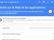 Supprimer votre historique recherche Google
