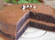 Devil's Food Cake ganache chocolat lait mangue-fruits passion