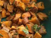 Salade patates douces gingembre