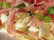 Salade d'endives, jambon parme pomme [#salade #parma #italie #prosciuttodiparma #summer #instafood #tgif]