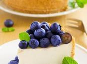Cheesecake citron myrtilles biscuit maison sans gluten