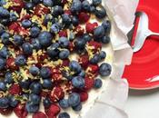 Aujourd'hui, j'ai testé cheesecake fruits sans cuisson