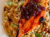 ~Blanc poulet grillé salade quinoa canneberges~