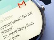 montres Android Wear fonctionnent maintenant avec l'iPhone