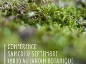 Conférence Gilles Clément dans cadre l'exposition IMPROBABILIS, végétal sous obus Jardin Botanique Bordeaux