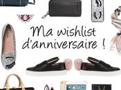 wishlist d'anniversaire