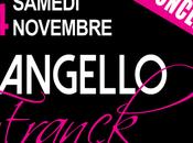chanteur Franck Angello concert Nice samedi Novembre