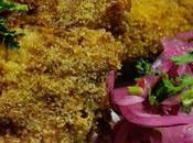 Poisson pané semoule Semolina breaded fish