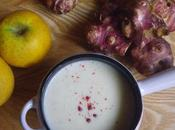 Velouté topinambours pommes