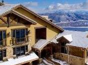 Chalet luxe dans montagnes américaines