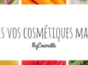 MyCosmetik, l'e-shop pour créer cosmétiques maison